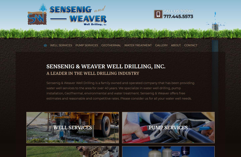 Sensenig Weaver Well Drilling