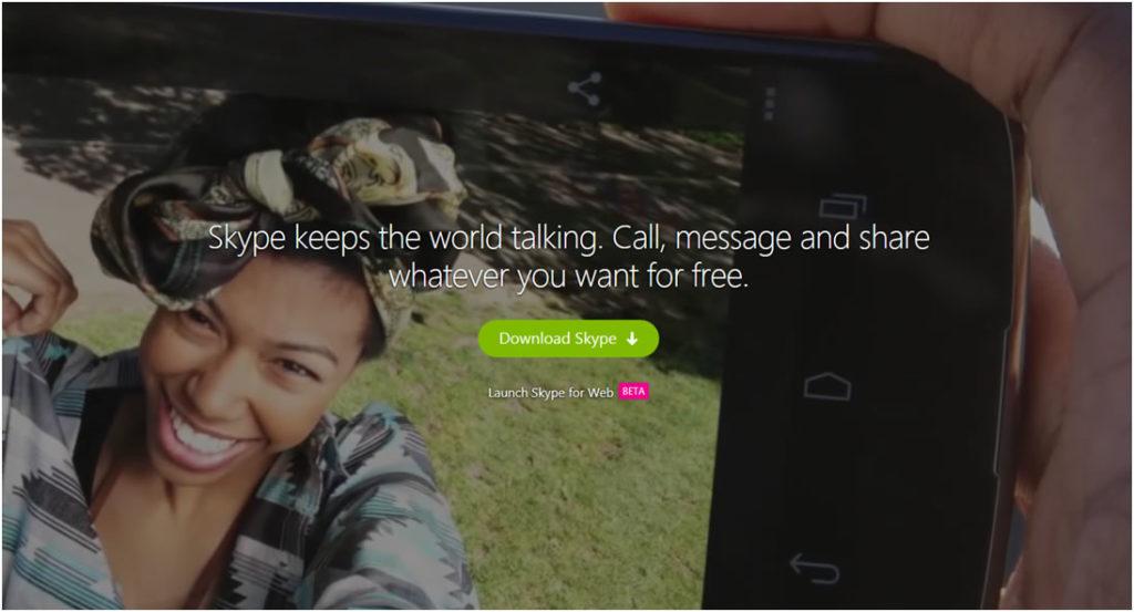 skype example