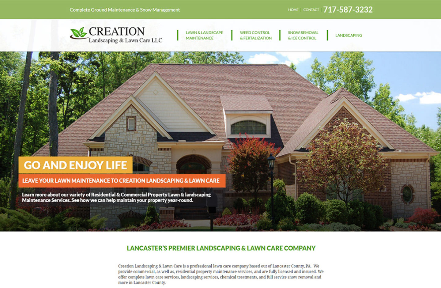 Creation Landscaping  Lawn Care LLC