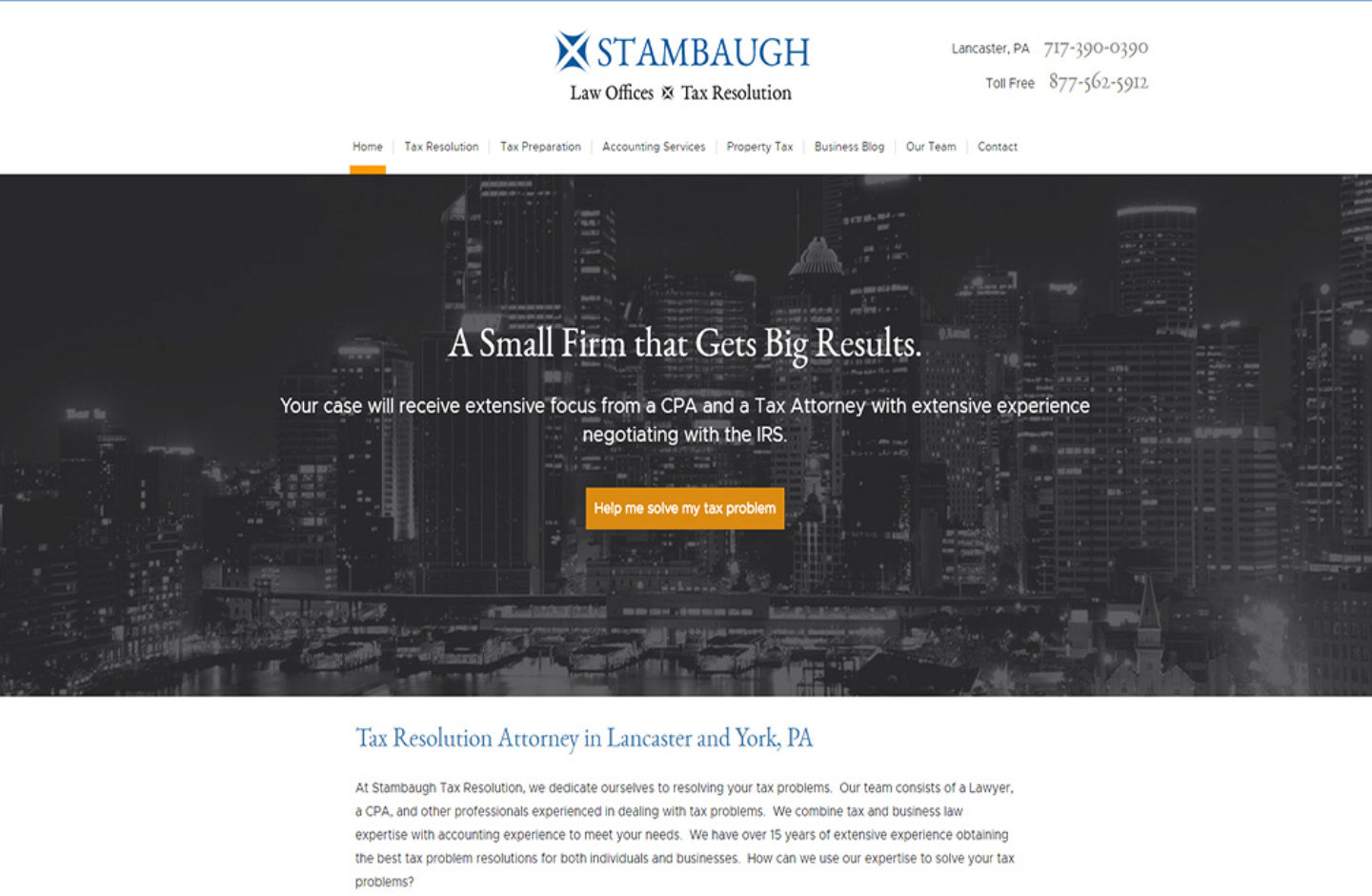 Stambaugh Law
