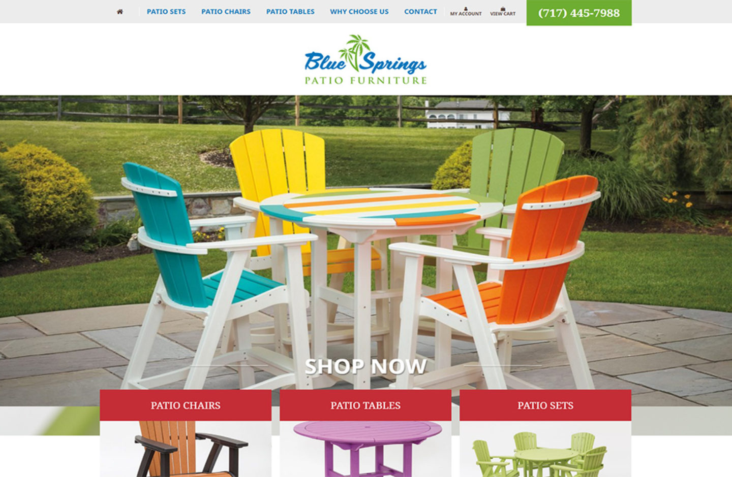 Blue Springs Patio Furniture