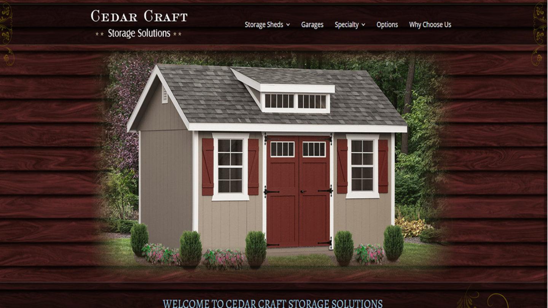 Cedar Craft Storage Sheds