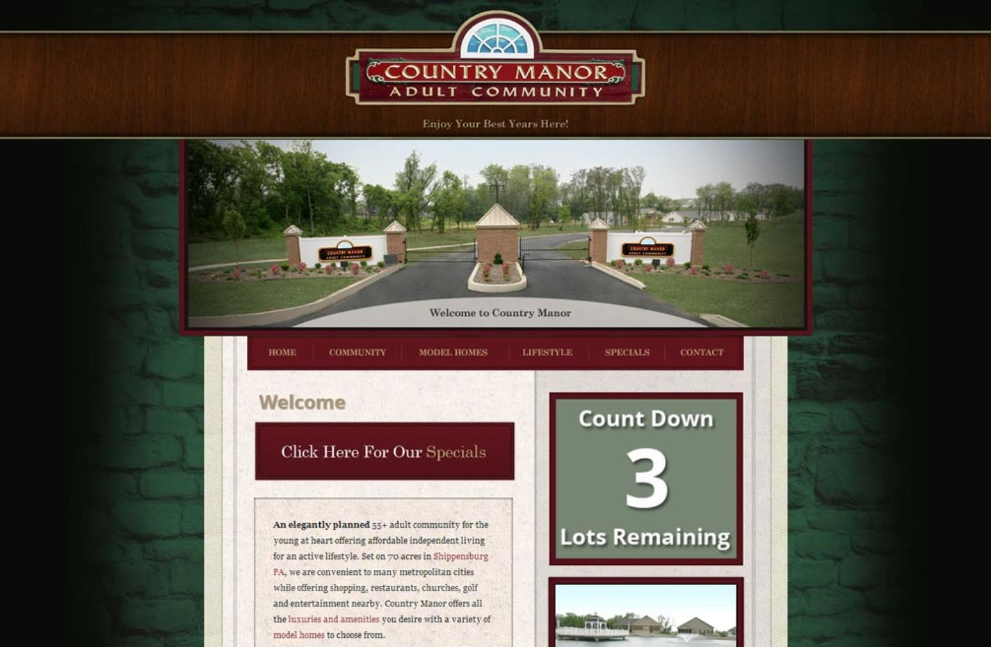 Country Manor Adult Community