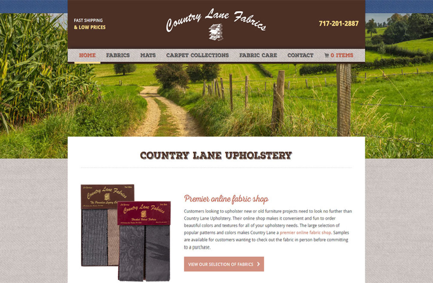 Country Lane Fabrics