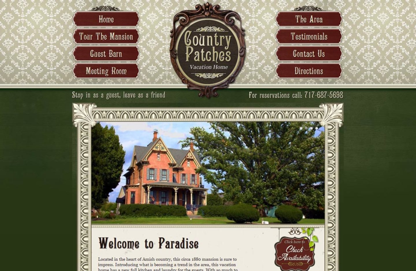 Country Patches Bed Breakfast