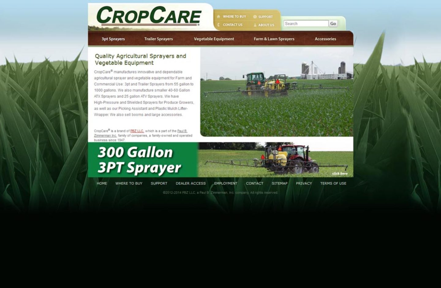 Crop Care Equipment