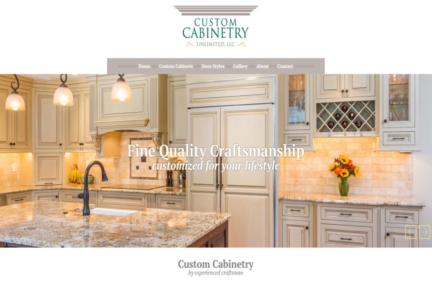 Custom Cabinetry Unlimited