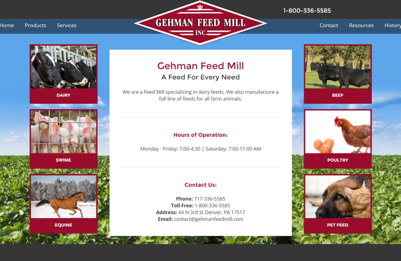 Gehman Feed Mill
