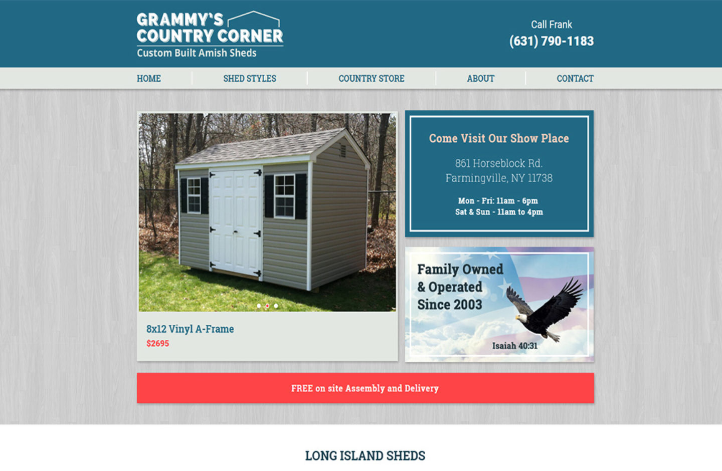 Grammy's Country Corner