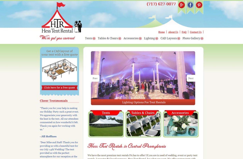 Hess Tent Rental