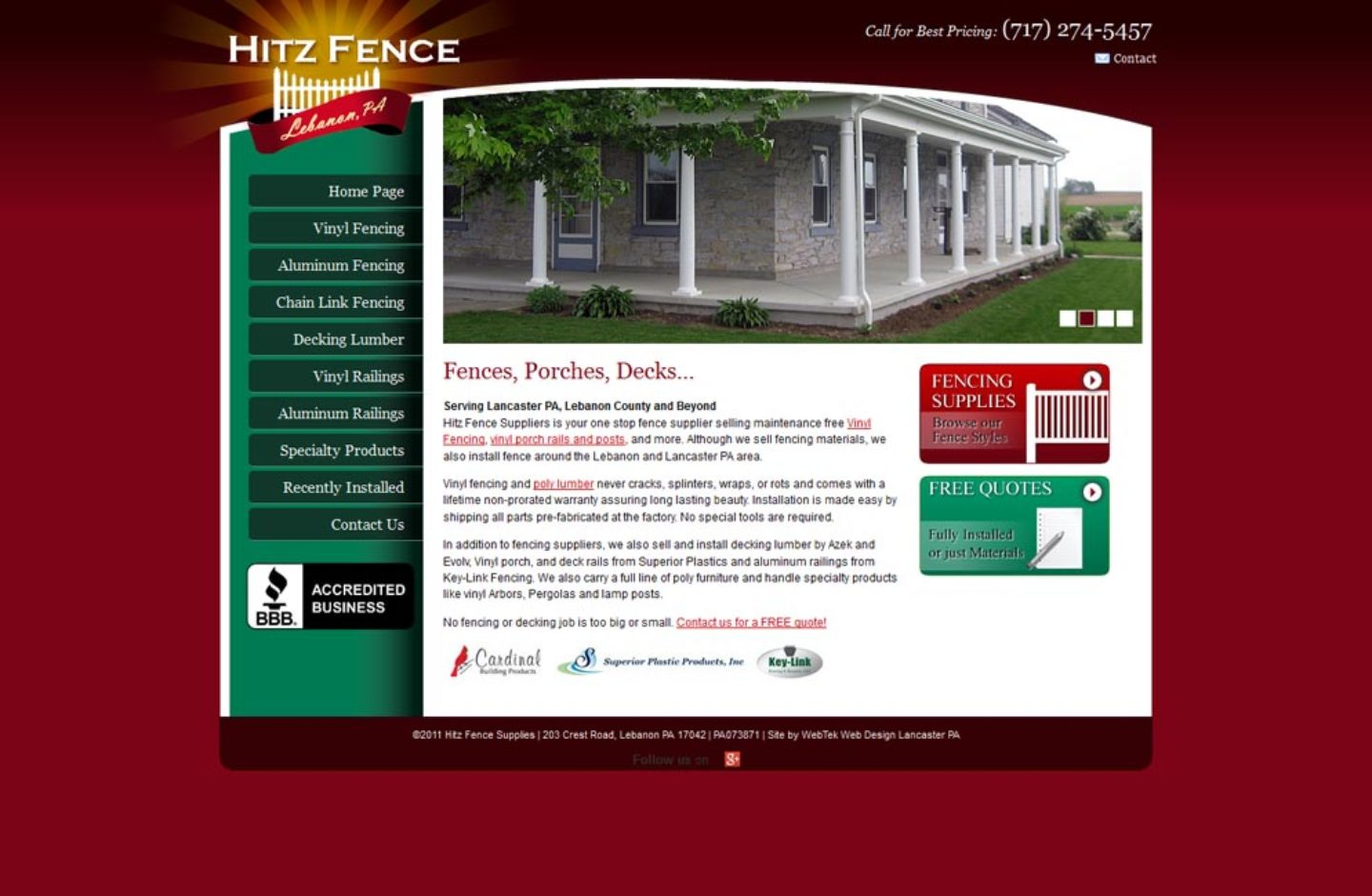 Hitz Fence Supplies