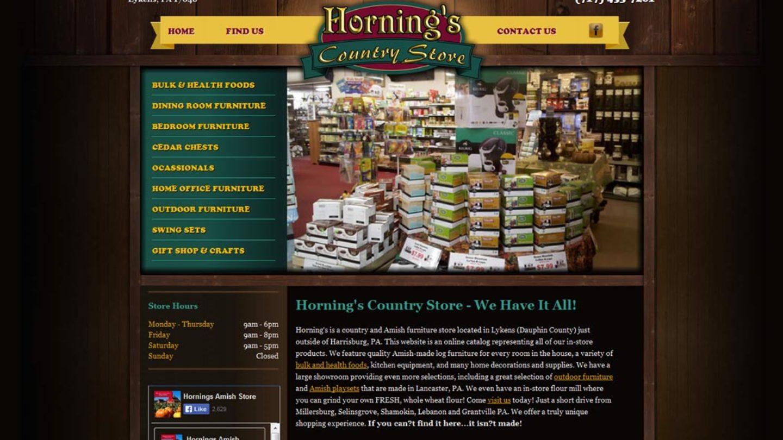 Hornings Store