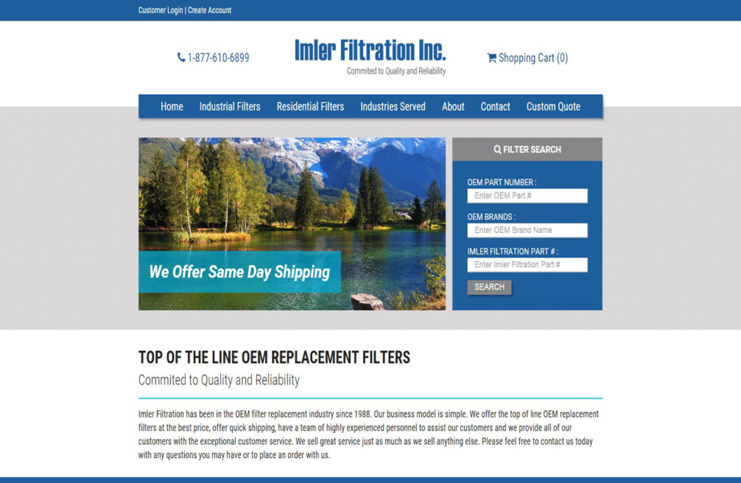 Imler Filtration Inc