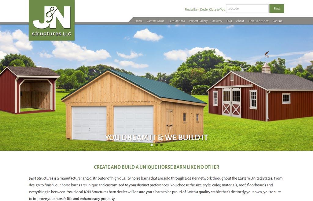Web Design Leola, PA | J N Structures