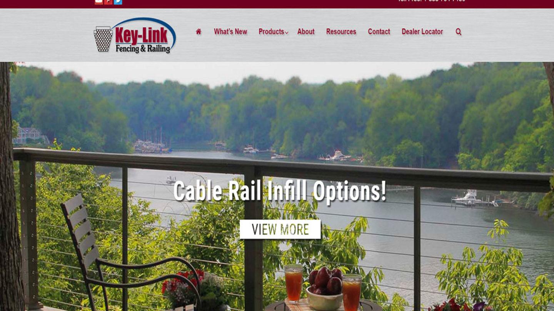 Key Link Fencing  Railing