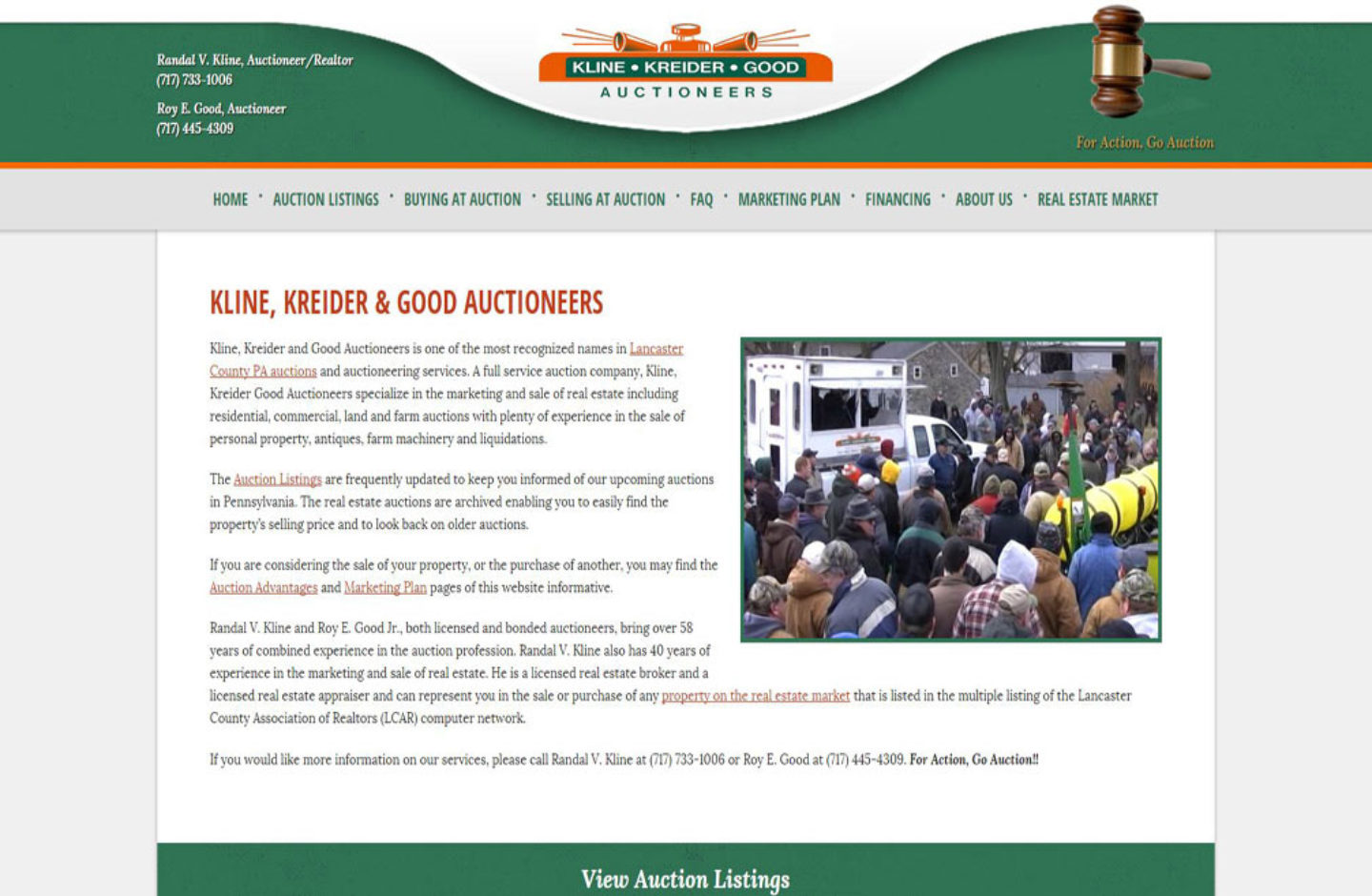 Kline Kreider Good Auctioneers
