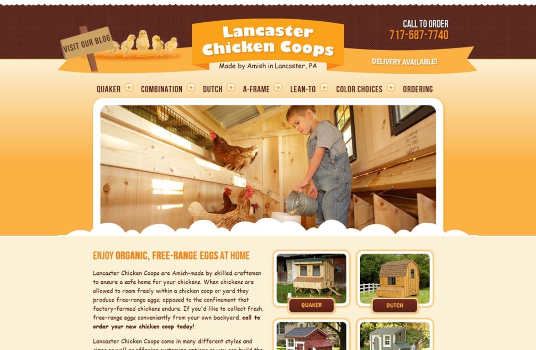 Lancaster Chicken Coops
