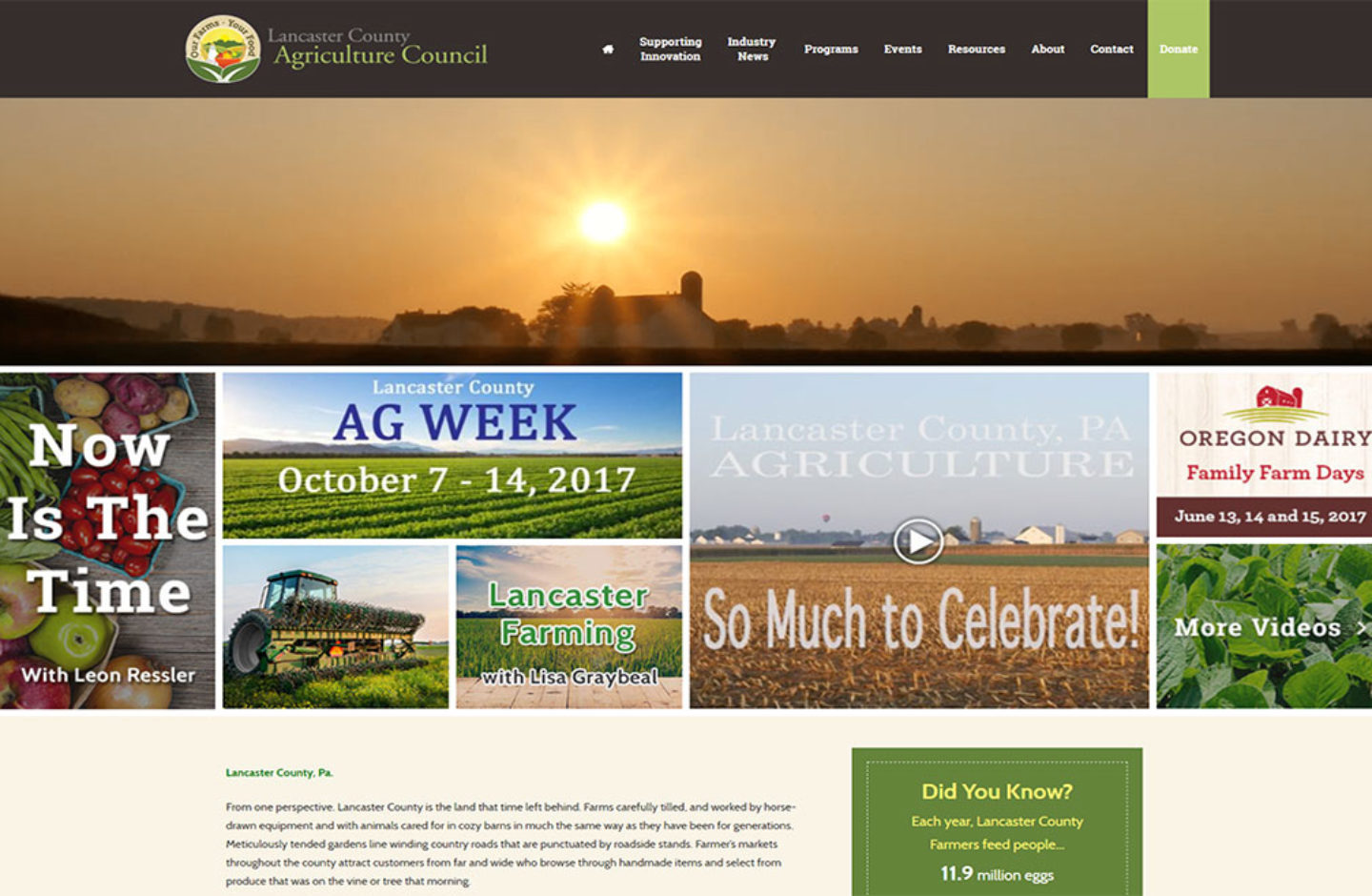 Lancaster County AG Council