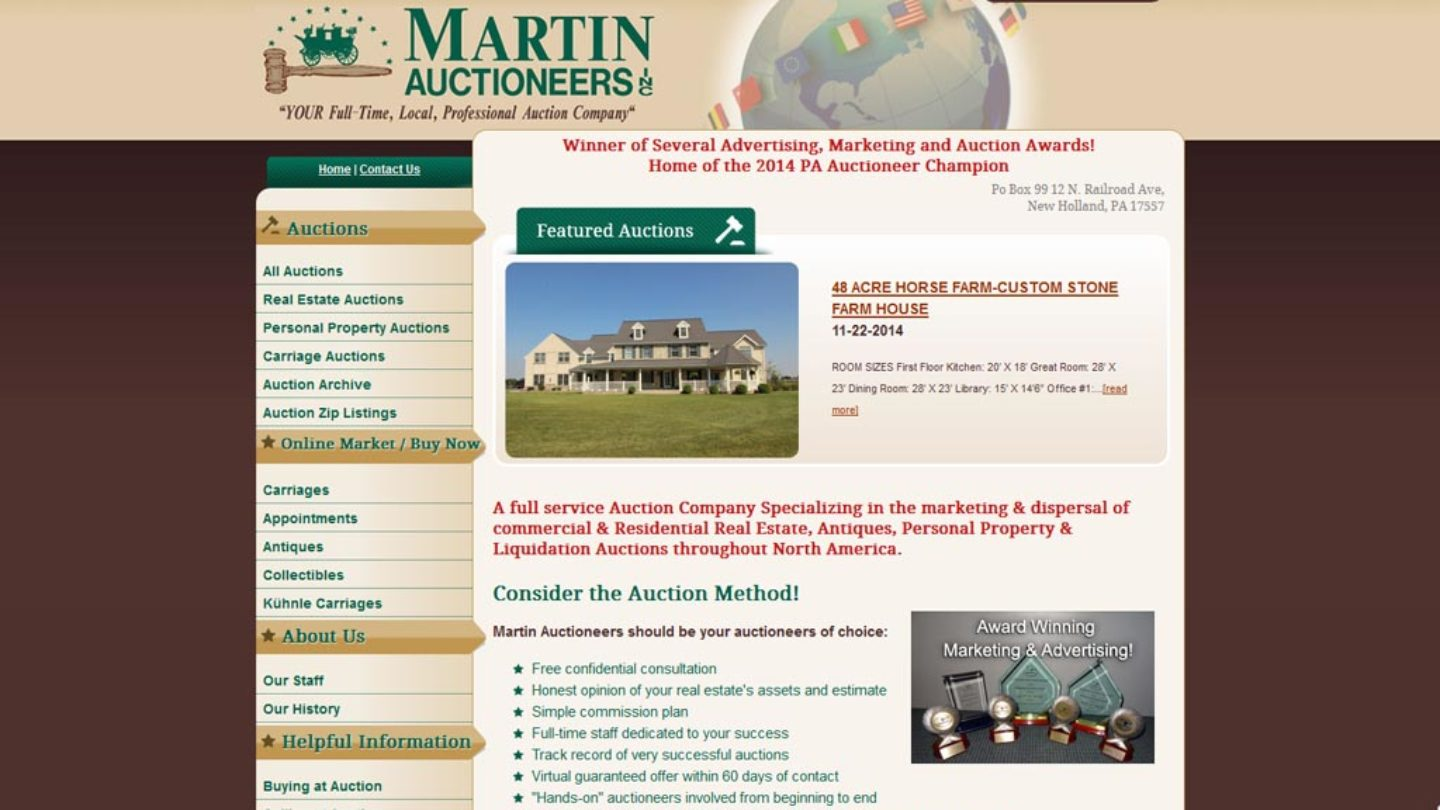 Martin Auctioneers
