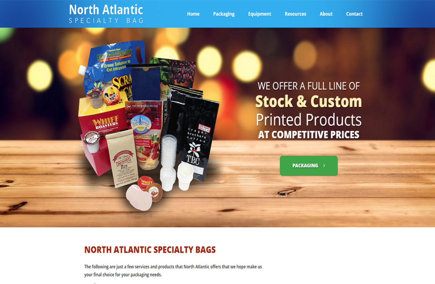 North Atlantic Specialty Bags