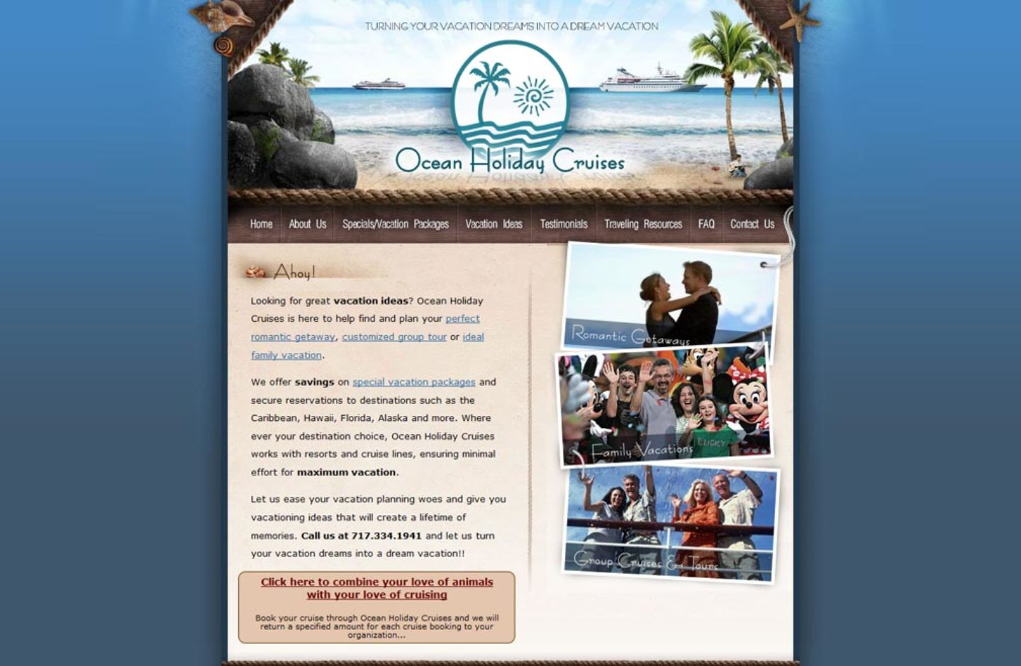 Ocean Holiday Cruises