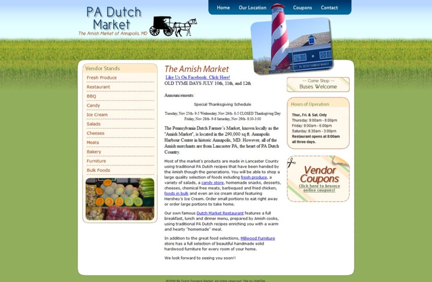 PA Dutch Farmers Market