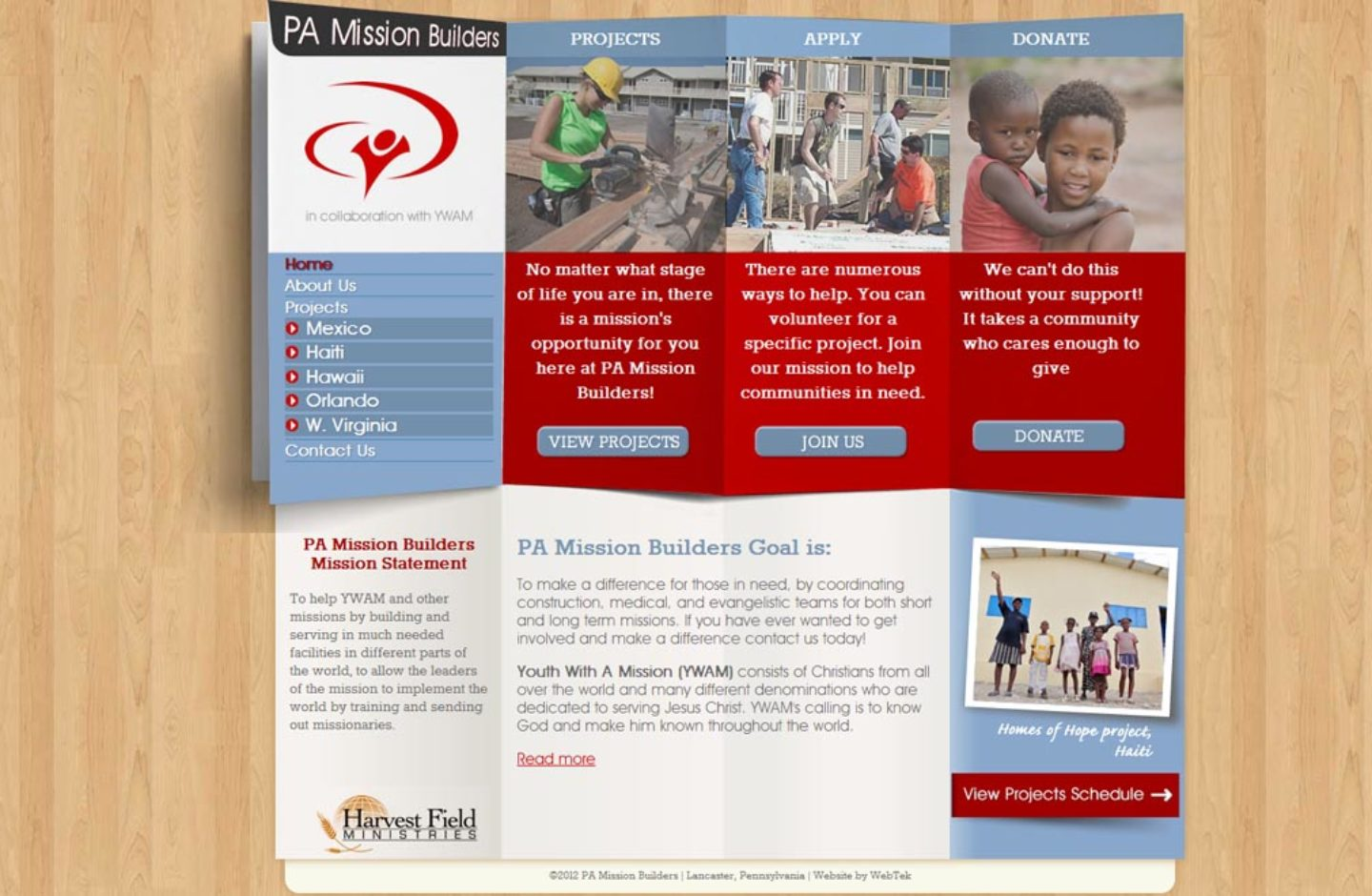 PA Mission Builders