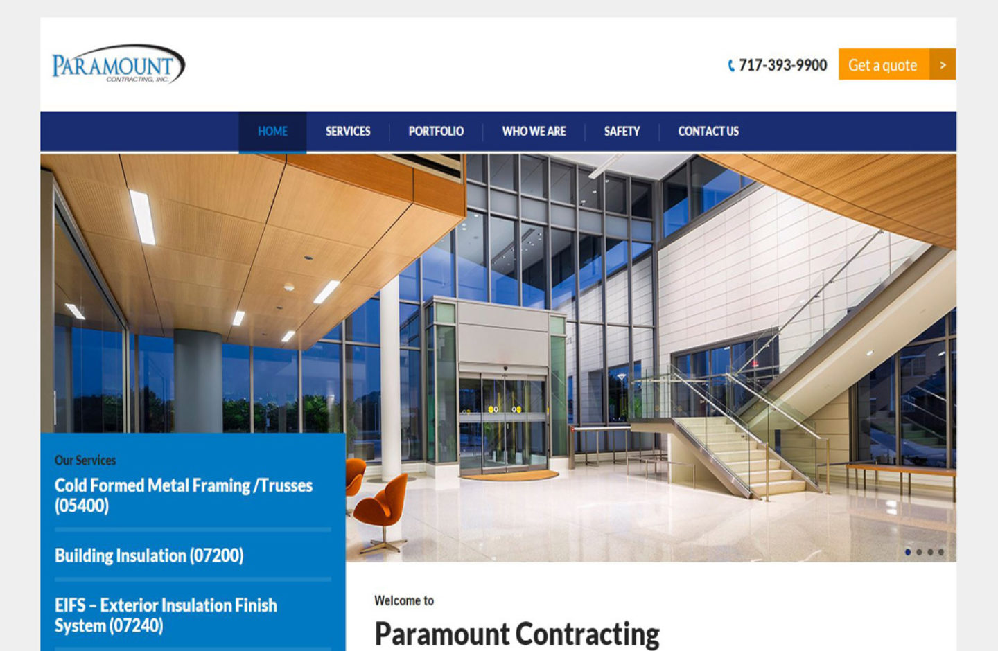 Paramount Contracting