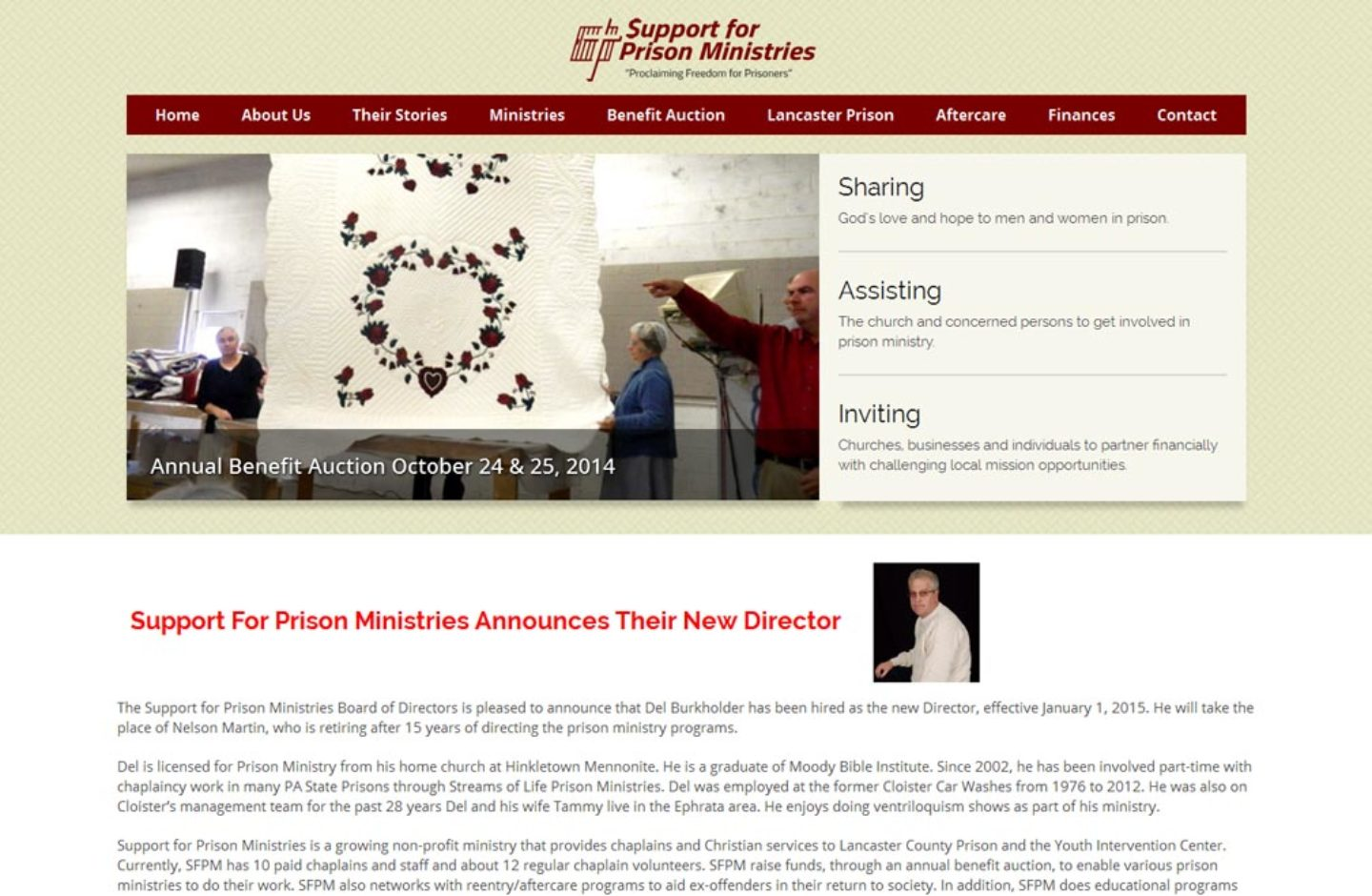 Support for Prison Ministries
