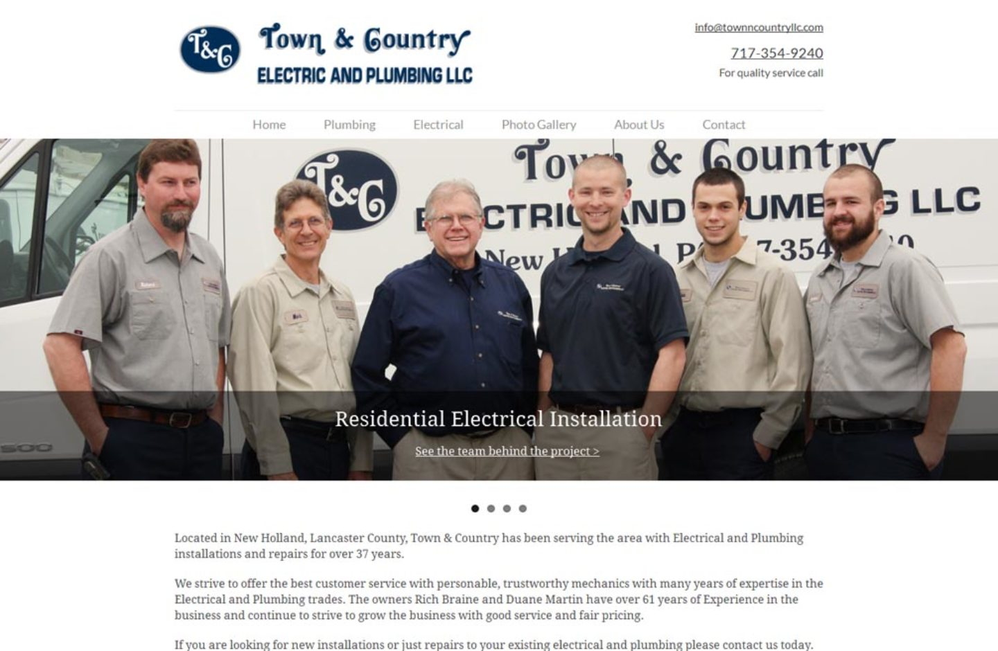 Town and Country Electrical Plumbing