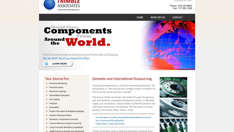 Web Design Lancaster Pa Trimble Associates