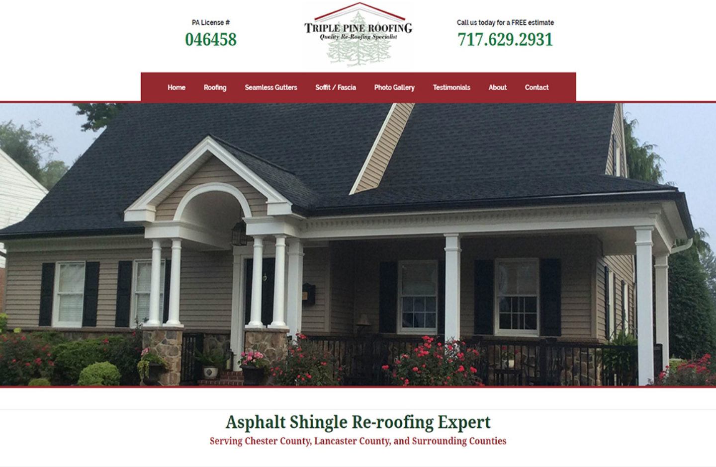 Triple Pine Roofing