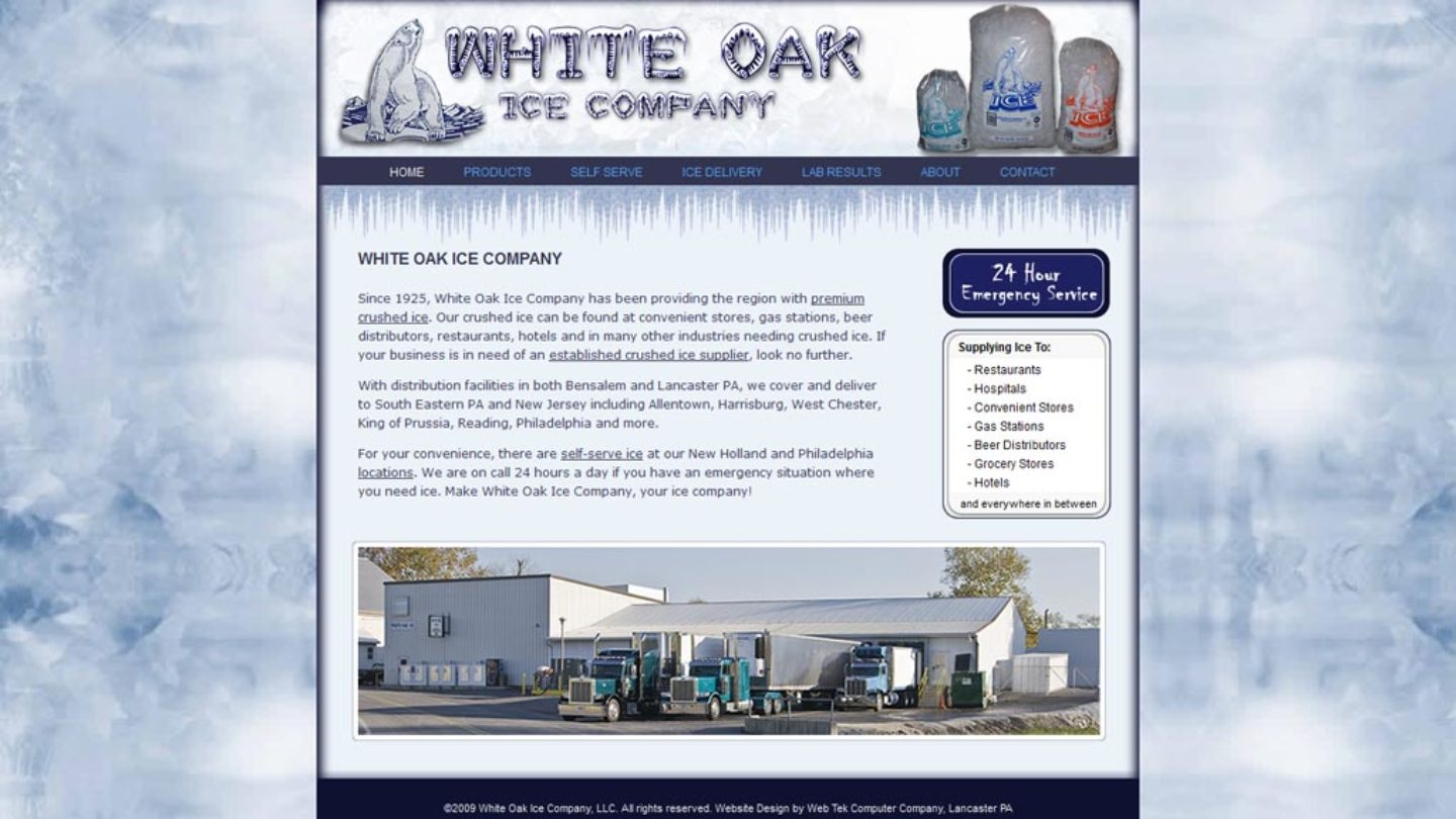White Oak Ice