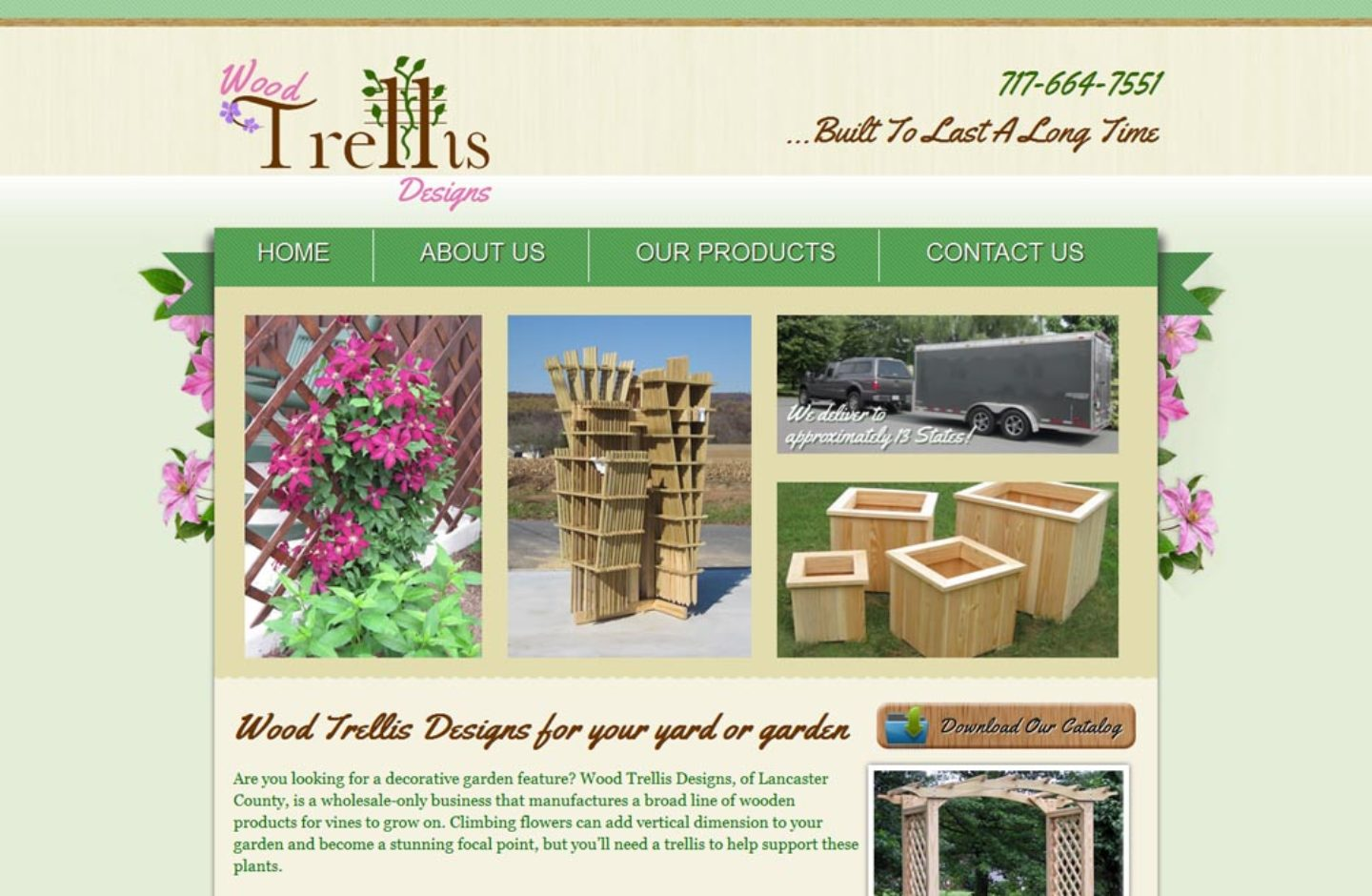 Wood Trellis Designs