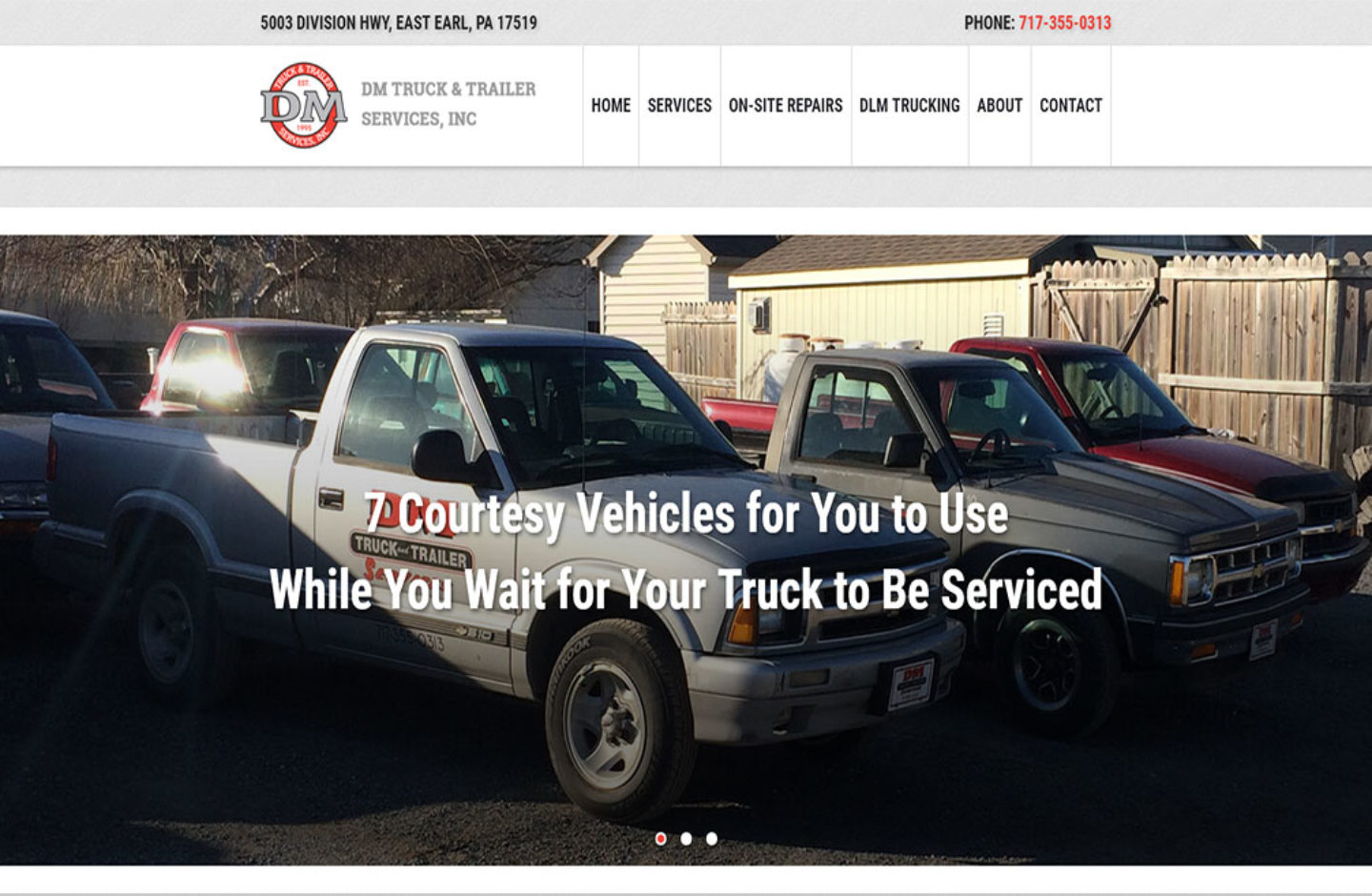 DM Truck  Trailer Services