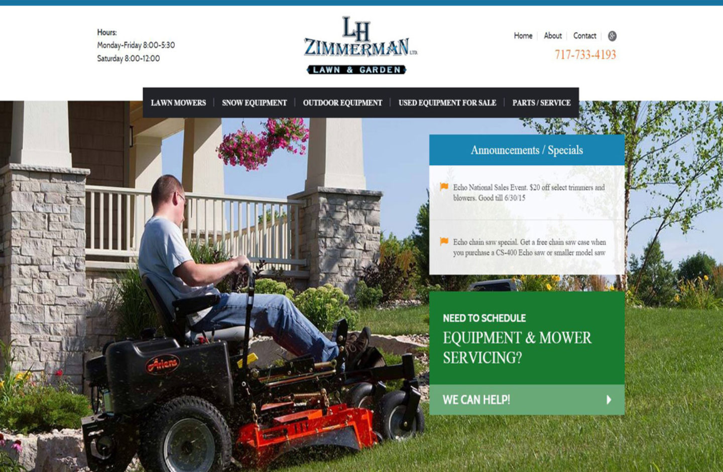 LH Zimmerman Lawn and Garden