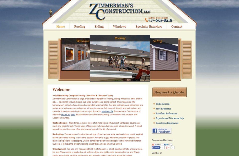 Zimmerman's Construction
