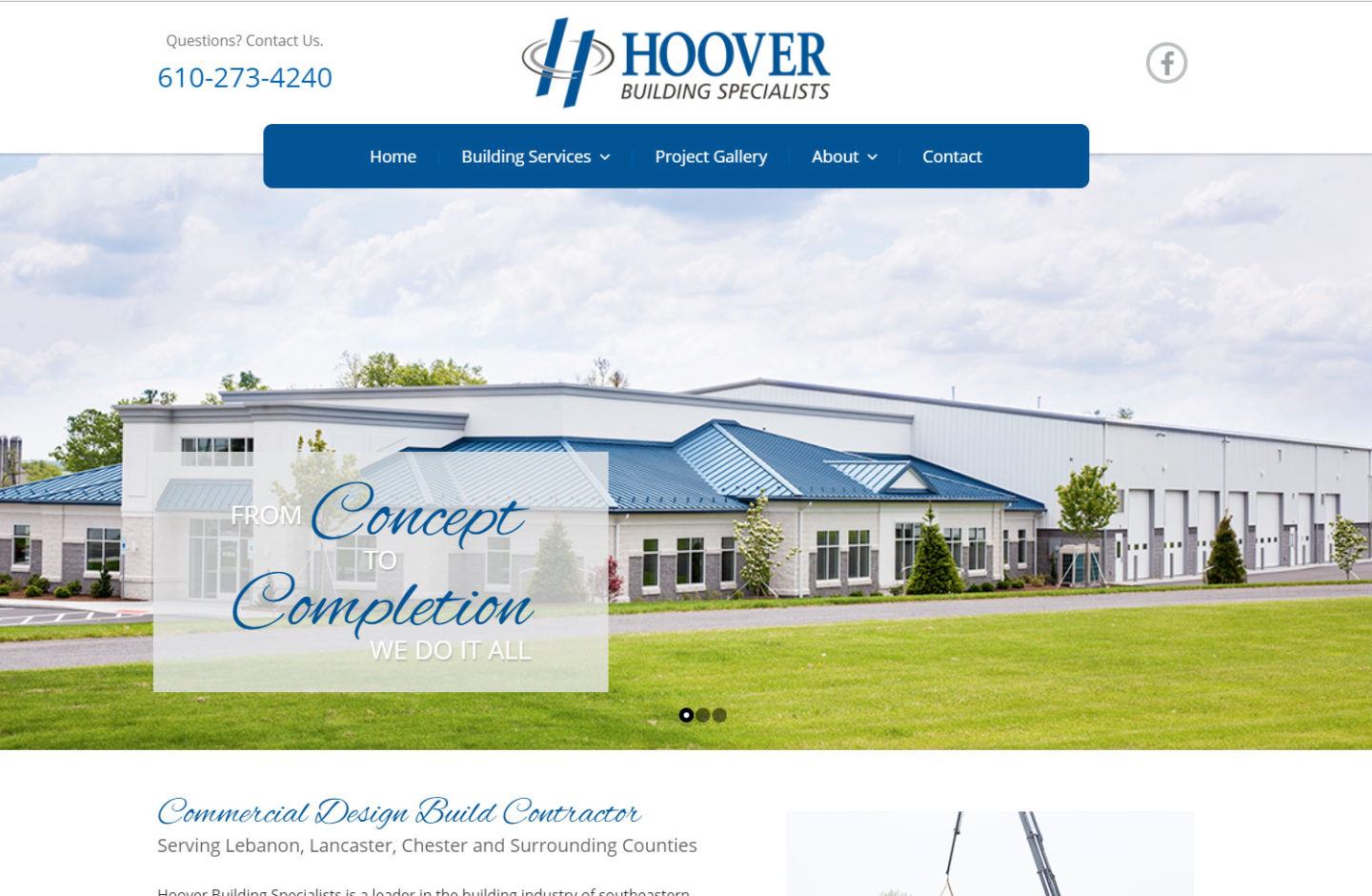Hoover Building Specialists