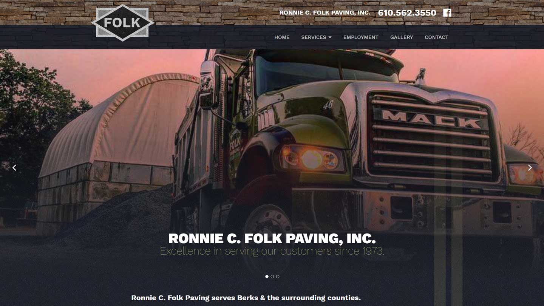 Ronnie Folk Paving