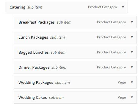 menu ordering