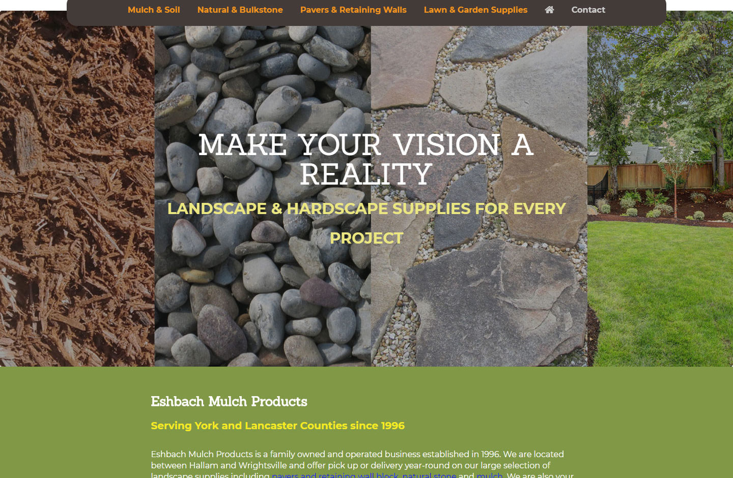 Eshbach Mulch Products