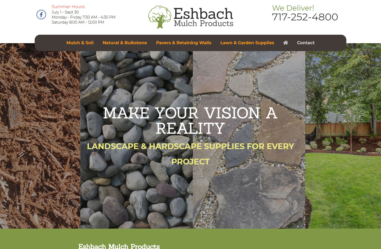 Esbach Mulch Products