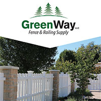 greenway fence print