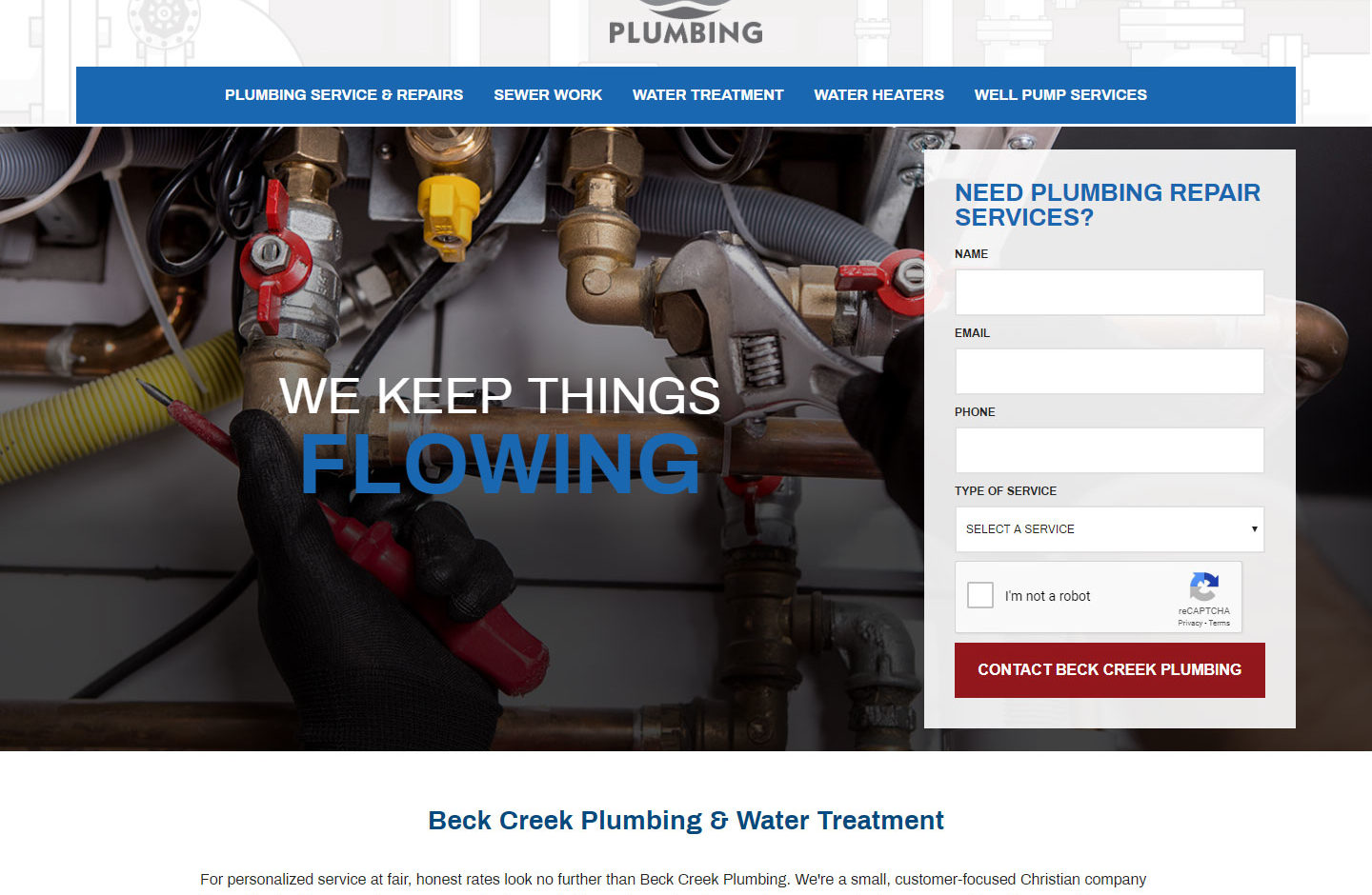 Beck Creek Plumbing