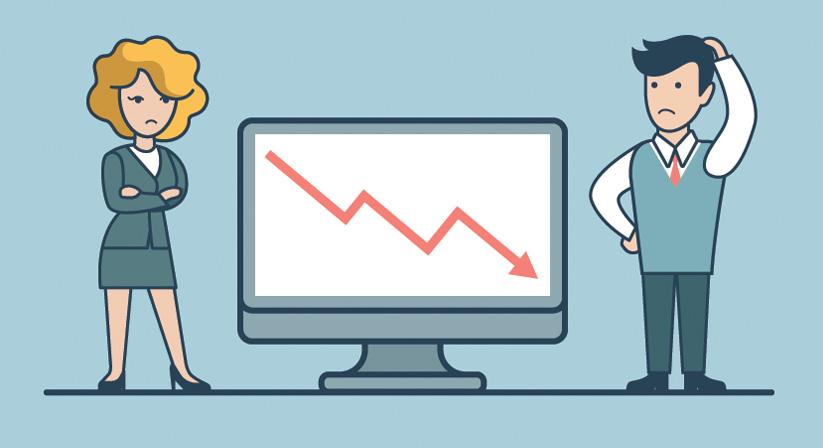 Cheap website destroying business traffic