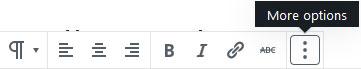 gutenberg add content block
