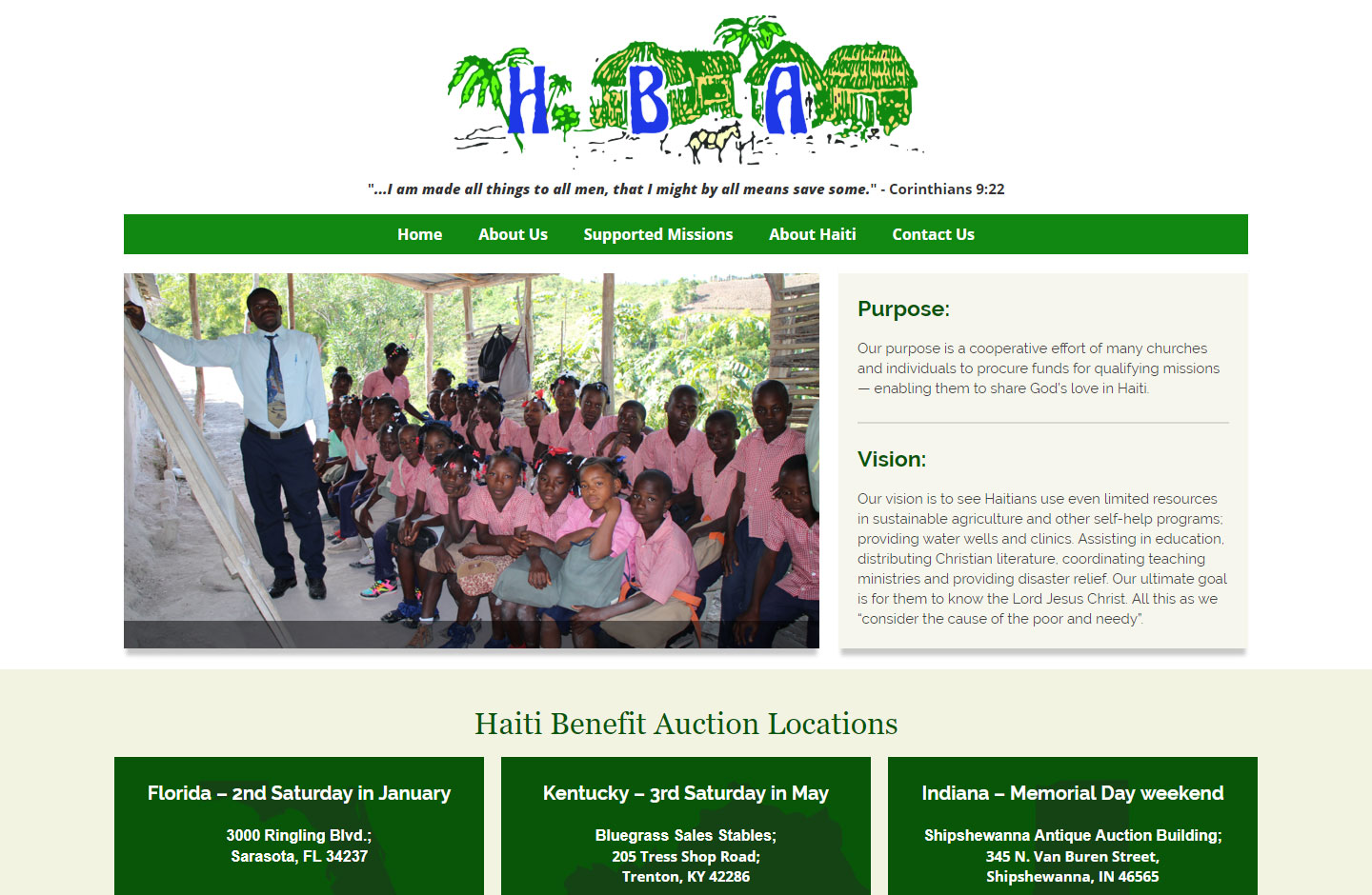 Haiti Benefit Auction