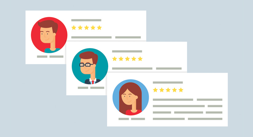 Generating online reviews for small businesses