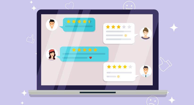 building online reviews