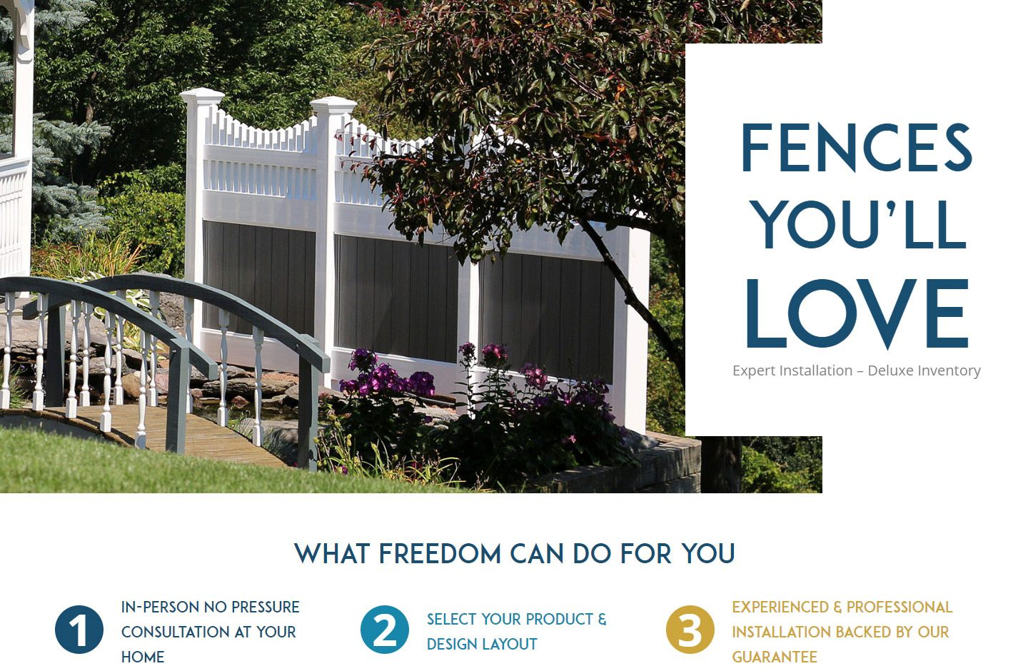 Freedom Fence & Railing